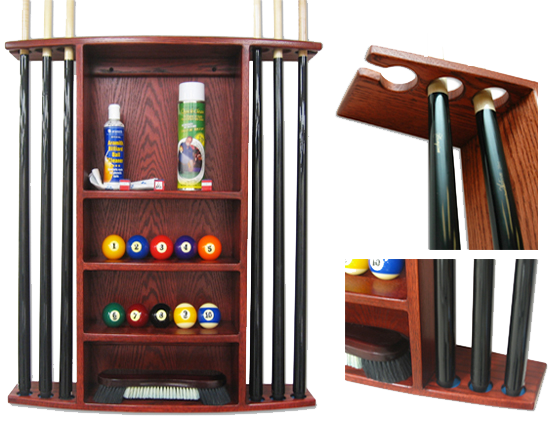 Ball and Cue Racks